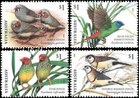 Australie - Fringillidés - Série neuve 4v