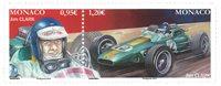 Monaco - Jim Clark - Postfrisk parstykke