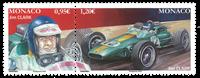 Monaco - Jim Clark - Paire neuve