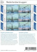 Netherlands - Europa 2018 / Bridges - Mint sheetlet