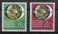 Alemania Occidental 1951 - AFA 1104-1105 - Nuevo