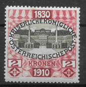 Austria 1910 - AFA 153 - Unused