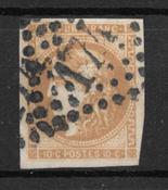 Francia 1870 - AFA 40 - Usado