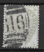 Gran Bretaña 1883 - AFA 78 - Usado