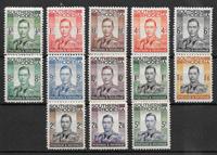 British Colonial 1937 - Mi. 42-54 - Mint