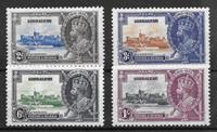 Gibraltar 1935 - AFA 98-101 - Käyttämätön liimakkeella