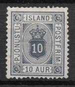 Islandia 1876 - Tj. AFA 5a - Nuevo con charnela