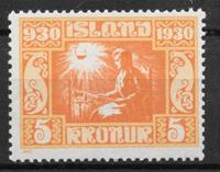 Islanti 1930 - AFA 138 - Postituore