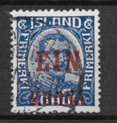 Islanti 1926 - AFA 121 - Leimattu