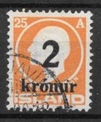 Islanti 1926 - AFA 120 - Leimattu