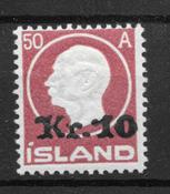 Islanti 1926 - AFA 119 - Postituore