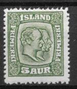 Islanti 1915 - AFA 79 - Käyttämätön liimakkeella