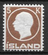 Islanti 1912 - AFA 75 - Postituore