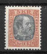 Islanti 1902 - AFA 47 - Postituore