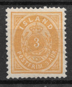 Islanti 1896 - AFA 12B - Postituore