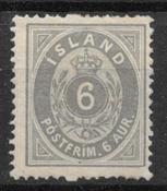 Islandia 1875 - AFA 7 - Nuevo con charnela