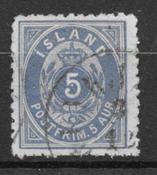 Islandia 1875 - AFA 6B - Usado