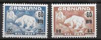 Groenlandia 1956 - AFA 37-38 - Nuevo