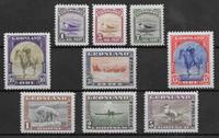 Grönlanti 1945 - AFA 8-16 - Postituore