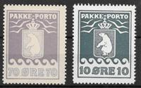 Grönlanti 1936 - Pak. AFA 13 + 15 - Käyttämätön liimakkeella