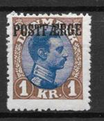 Dinamarca 1922 - PF AFA 8 - Nuevo con charnela