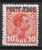 Dinamarca 1919 - PF AFA 1 - Nuevo