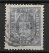 Denmark 1875 - Tj. AFA 5a - Cancelled