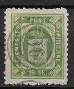 Denmark 1871 - Tj. AFA 3A - Cancelled