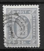 Denmark 1871 - Tj. AFA 1a - Cancelled