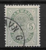 Dinamarca 1882 - AFA 32 - Usado