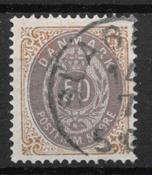 Denmark 1875 - AFA 30 - Cancelled