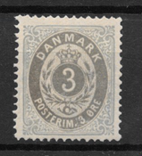 Dinamarca 1875 - AFA 22a - Nuevo con charnela