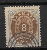 Denmark 1871 - AFA 19 - Cancelled