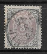 Denmark 1871 - AFA 17 - Cancelled