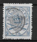 Denmark 1864 - AFA 11 - Cancelled