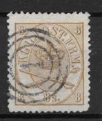 Denmark 1868 - AFA 14 - Cancelled