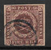 Denmark 1852 - AFA Ia - Cancelled