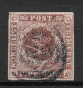 Denmark 1851 - AFA I - Cancelled