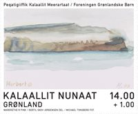 Groenland - Aquarelles de la Reine du Danemark - Timbre de bienfaisance neuf