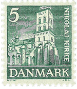 Danmark  Stålstik AFA 229
