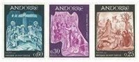 Andorre francais YT 184-86