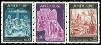 Fransk Andorra -  YT 184-86