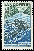 Fransk Andorra -  YT 196