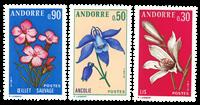 Fransk Andorra -  YT 229-31