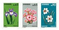 Andorre francais YT 234-36