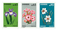 Fransk Andorra -  YT 234-36