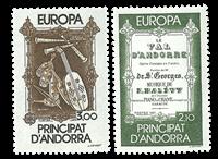 Fransk Andorra -  YT 339-40