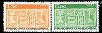 Fransk Andorra -  YT 346-47