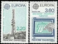 Fransk Andorra -  YT 369-70