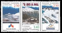 Fransk Andorra -  YT 427-29